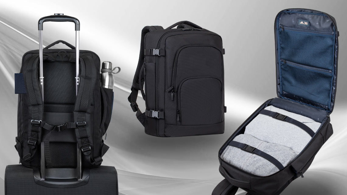 8461 travel backpack – efficient design and maximum storage capacity