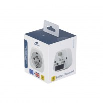 PS4401 W00 travel adapter EU to UK