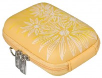 7023 (PU) Digital Case yellow (flowers)