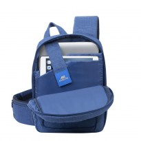 7529 blue Laptop Sling backpack 13.3