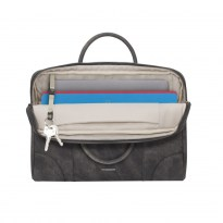 8922 grey slim Laptop bag 13.3-14