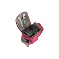 7202 SLR Holster Case with side pockets red